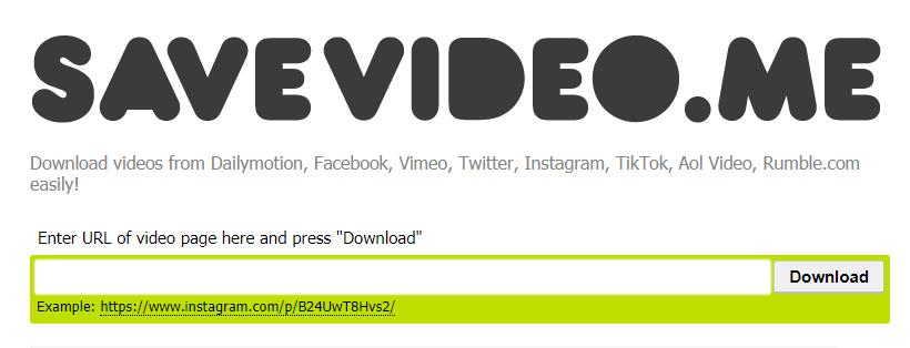 Dailymotion 動画ダウンロード保存方法