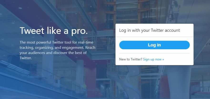 tweetdeckで複数アカウントを追加登録する手順
